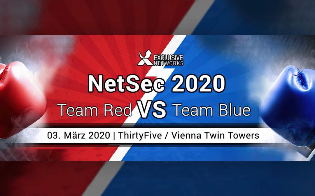 Visit us at the NetSec2020